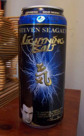 Steven Seagal's Lightning Bolt can