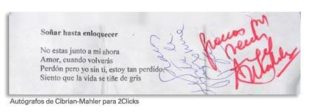 Cibrian-Mahler-autografo