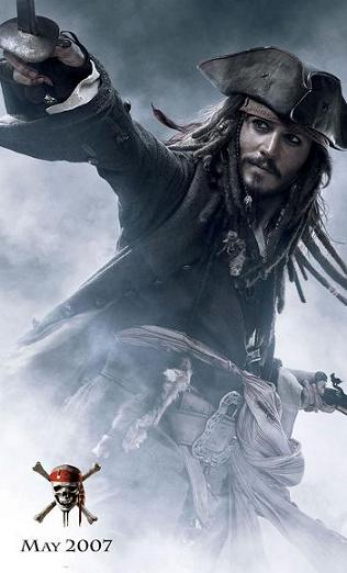 pirates 3- Jack Sparrow