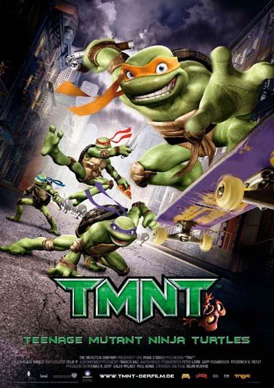 TMNT-Tortugas nijasposter