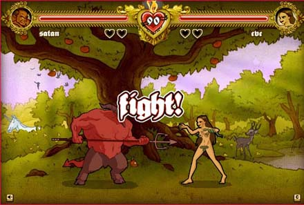 bible fight screen