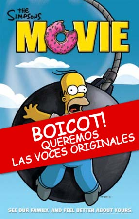 Boicot latinoamericano - The SImpsons movie