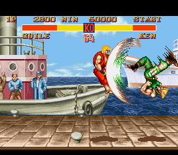Guile- kick