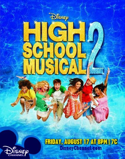 High School Musical 2, audio latino Hsm2poster