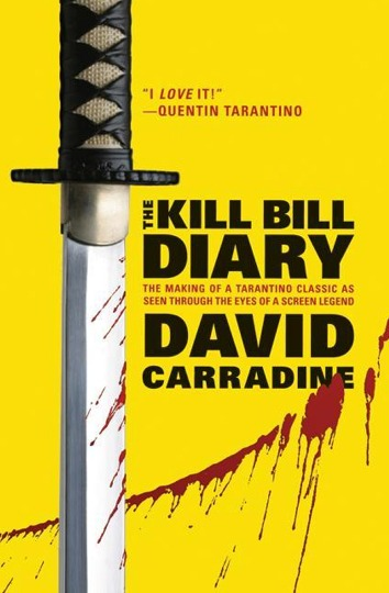 KILL BILL DIARY, el nuevo libro de David Carradine