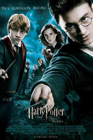 Harry Potter Order of Phoenix - poster